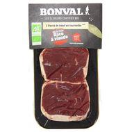2192836000000 - Bonval - Pavé de boeuf Bio en Tournedos