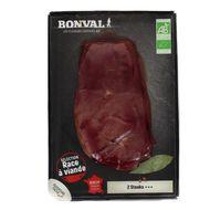 2192843000000 - Bonval - Bifteck de Boeuf Bio x2