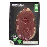 2192868000000 - Bonval - Tranche de Gigot d'Agneau Bio x1