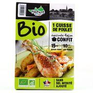 2155738000000 - Nature De France - Cuisse Poulet confit Bio
