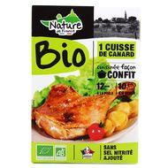 2348435000000 - Nature De France - Cuisse de Canard confit Bio