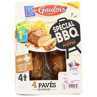 2614130000000 - Le Gaulois - 4 Pavés de poulet au poivre