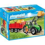 4008789061300 - PLAYMOBIL® Country - Tracteur avec pelle et remorque