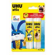 Uhu - 2 Bâtons de colle blanche 21 g