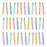 5412931066300 - codima - Serviettes en papiers bougies 33x33 cm