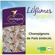 3760125200101 - Bioregard - Champignons de Paris émincés Bio