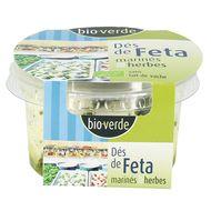 4000915102901 - BioVerde - Dés de Feta bio marinés aux herbes