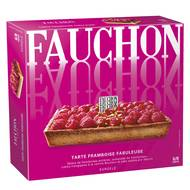 Fauchon - Tarte passionnément framboise- Délice de framboise entières, compotée de framboise 6 parts