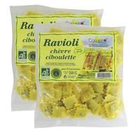 2050000306501 - Coquelicot - Ravioli chèvre ciboulette bio