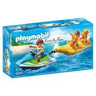 4008789069801 - PLAYMOBIL® Family Fun - Vacanciers avec jet-ski et banane