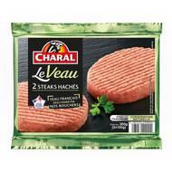 3181232220002 - Charal - Steak haché de veau 15% Mat.gr