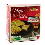 3483460330202 - Tossolia - Galettes bio au tofu à l'indienne