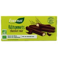 3396410142902 - Evernat - Batonnets chocolat noir bio