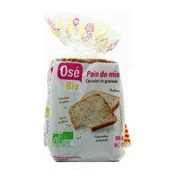 3760099534202 - Osé Bio - Pain de mie bio aux céréales et graines