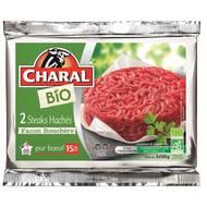 3181238955502 - Charal - Steak haché Façon bouchère Bio 15%mat.gt