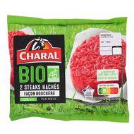 3181238955502 - Charal - Steak haché Façon bouchère Bio 12%mat.gt