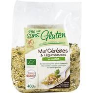3380380056802 - Ma Vie Sans Gluten - Mix'céréales Légumineuses / Millet, sans gluten, Bio