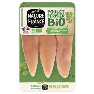 3422210448002 - Nature De France - Aiguillette de poulet fermier Bio