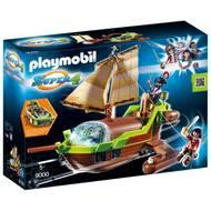 4008789090003 - PLAYMOBIL® Super 4 - Bateau pirate Caméléon avec Ruby