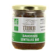 3356650310103 - Terroir de Caractère - Saucisses lentilles Bio