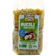 3421557112003 - Grillon Or - Muesli sans gluten, bio