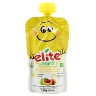 8697404764403 - Elite Organic - Gourde Pomme Banane Poire Pêche bio