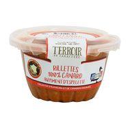 3356650006303 - Panache Des Landes - Rillettes 100% canard au piment d'espelette