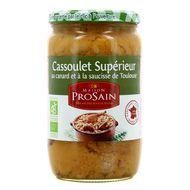 3335880006703 - Prosain - Cassoulet bio au canard et saucisse de Toulouse
