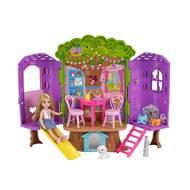 0887961607703 - Mattel - Chelsea et sa cabane dans les arbres- Barbie