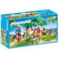 4008789068903 - PLAYMOBIL® Summer Fun - Cyclistes avec vélos et remorque