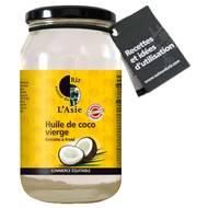 3760103141204 - Autour Du Riz - Huile de coco vierge bio