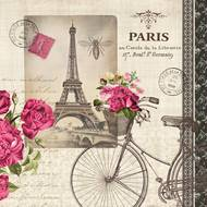 4021766201704 - Paperproducts Design - Serviettes papier vélo parisien