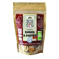 3770001404004 - Biscru - Cracker tomate paprika Bio sans cuisson Raw