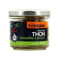 3375160004104 - La Sablaise - Rillettes Thon, coriandre & basilic