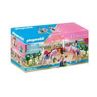 4008789704504 - PLAYMOBIL® Princess - Princesse avec chevaux et instructeur