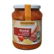 3431590006504 - Danival - Ravioli au boeuf bio