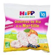4062300267404 - Hipp - Galettes de Riz à la Myrtille bio dès 10 mois
