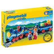4008789068804 - PLAYMOBIL® 1.2.3 - Train étoilé avec passagers et rail