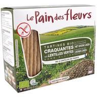 3380380079504 - Le pain des fleurs - Tartine craquante bio lentilles vertes