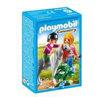 4008789069504 - PLAYMOBIL® Country - Cavalière avec soigneur et poney