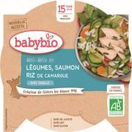3288131530505 - Babybio - Méli-Mélo de légumes au saumon riz bio, dès 15 mois