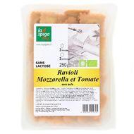 8022230010705 - La Spiga Bio - Raviolis mozzarella et tomate bio