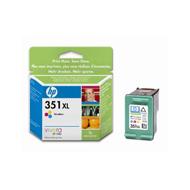 0884962781005 - Hewlett packard - Cartouche d'encre 351CL XL couleurs