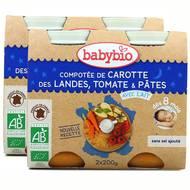 2050000312205 - Babybio - Compotée de carotte des Landes, tomate et pâtes Bio, dès 8 mois