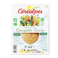 3472331092905 - Céréalpes - Galette bio courgette curry