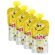 2050000354205 - Elite Organic - Gourde Pomme Banane Poire Pêche bio