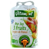 3289196580306 - Vitamont - Pur jus 3 fruits vergers bio Fontaine