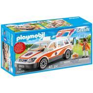 4008789700506 - PLAYMOBIL® City Life - Voiture et ambulancier