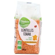3322693001506 - Monbio - Lentilles corail bio origine France