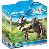 4008789703606 - PLAYMOBIL® Family Fun - Gorille avec ses petits